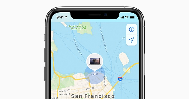track  with find my iphone