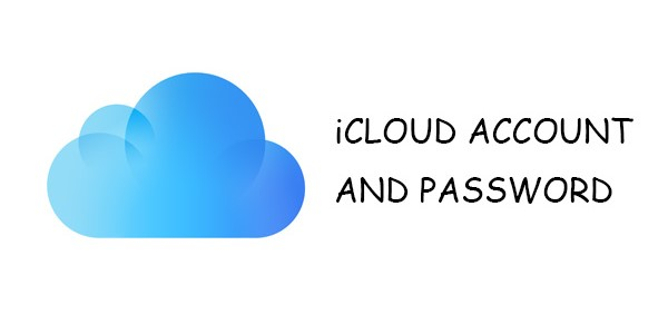 get icloud account and password