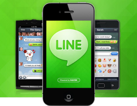 hack line on iphone