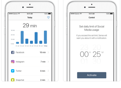 apps to limit time on social media